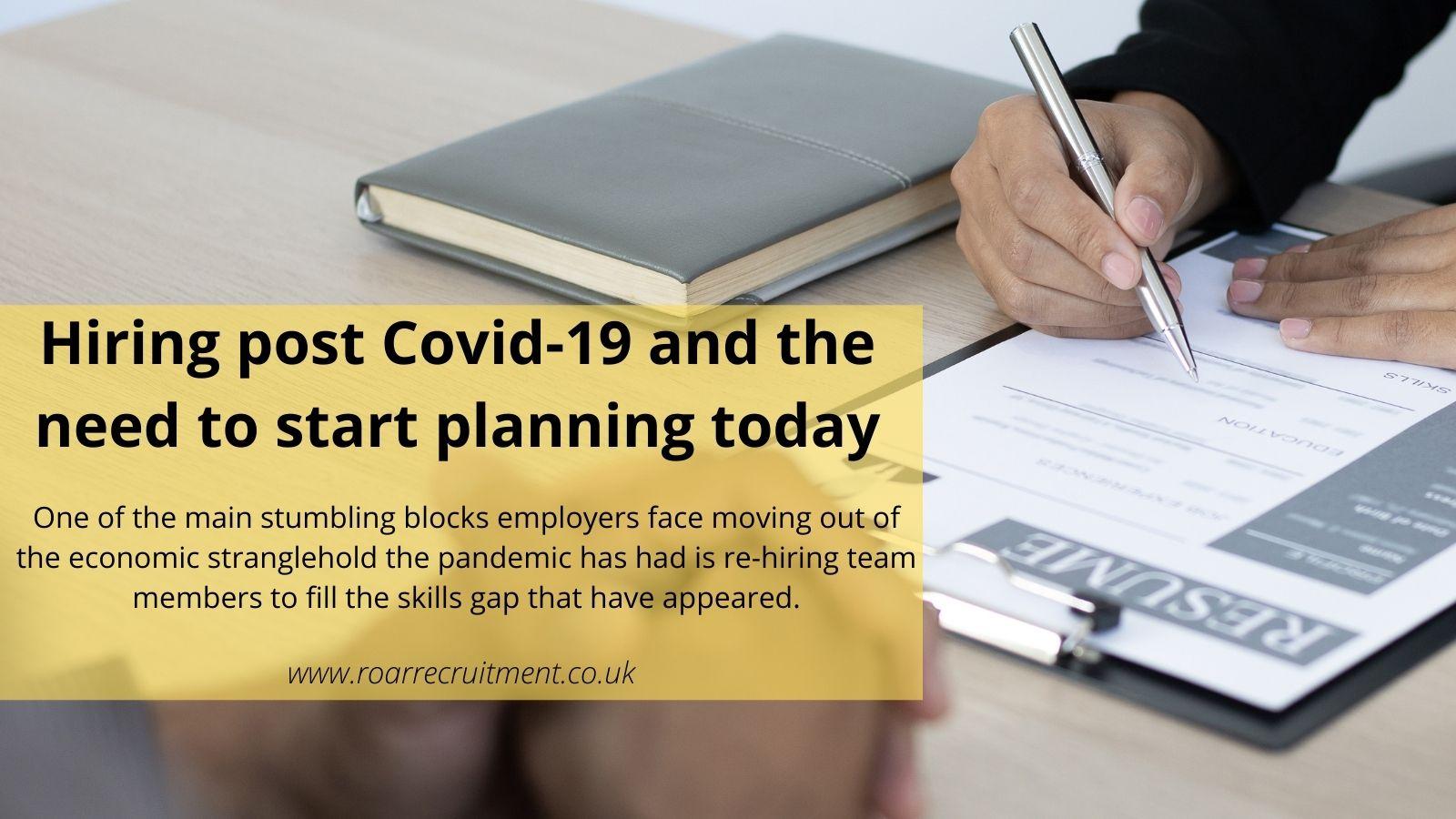 Hiring post Covid-19